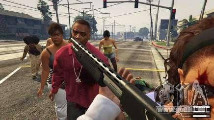 GTA 5 mod Zombie