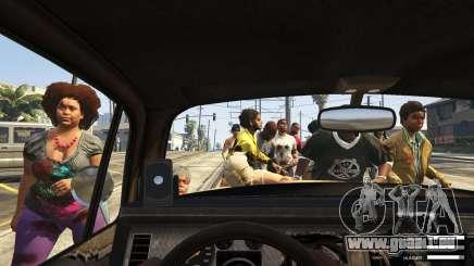Attaque de zombies dans GTA 5