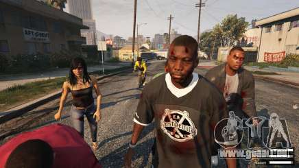 Apocalypse zombie dans GTA 5