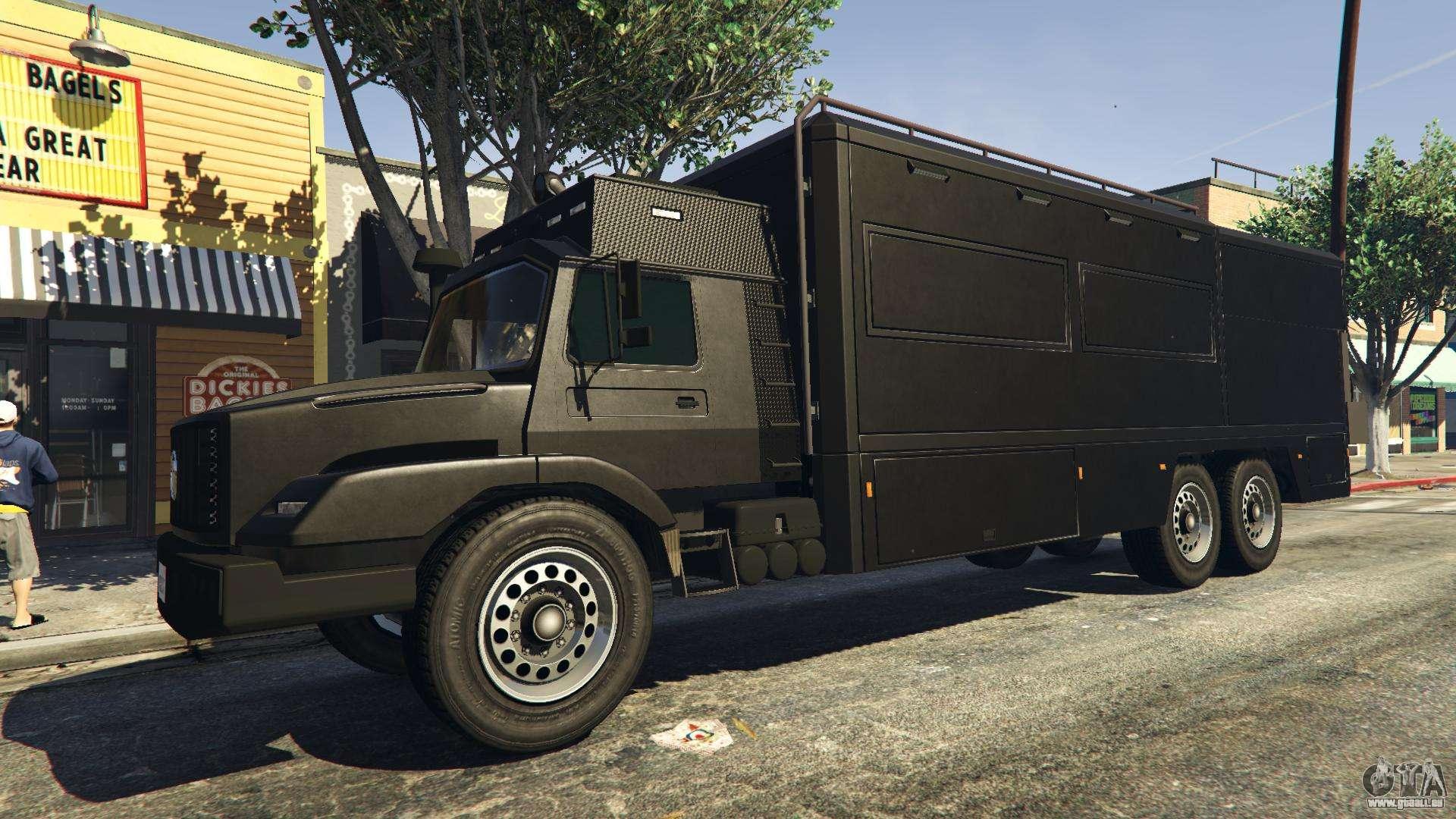 Benefactor Terrorbyte GTA 5