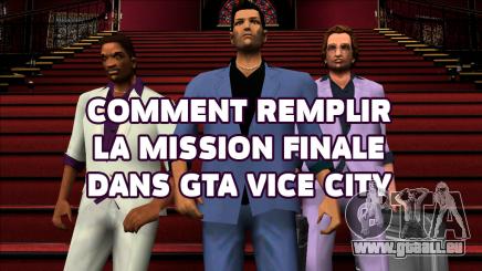 La dernière mission de GTA Vice city
