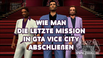 Die Letzte mission von GTA Vice city