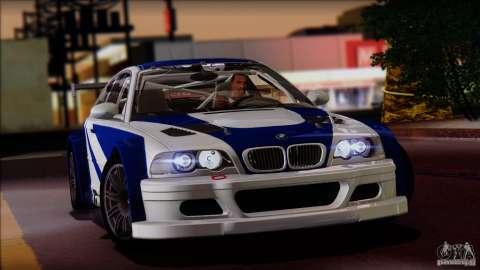 Exclusif: BMW M3 GTR E46