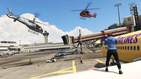 Capture de GTA en ligne mise à jour maintenant disponible