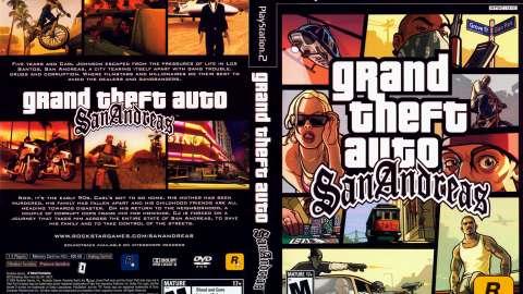 GTA San Andreas est âgé de 9 ans!
