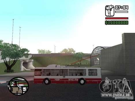 ZiU-682G-017 (682G0N) pour GTA San Andreas vue intérieure
