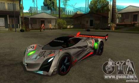 Mazda Furai V2 pour GTA San Andreas