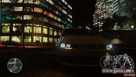 Volkswagen Polo pour GTA 4 vue de dessus