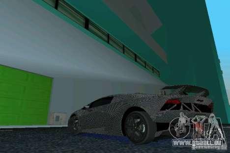Lamborghini Sesto Elemento für GTA Vice City linke Ansicht