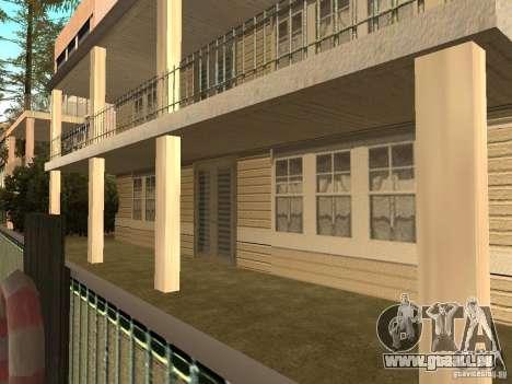 La maison modifiée sur la plage de Santa Maria 2 pour GTA San Andreas quatrième écran