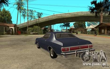 Ford Gran Torino Stock pour GTA San Andreas sur la vue arrière gauche