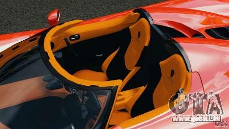 Koenigsegg CCX 2006 v1.0 [EPM][RIV] pour GTA 4 est une vue de dessous