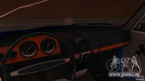 VAZ 2106 pour GTA San Andreas sur la vue arrière gauche