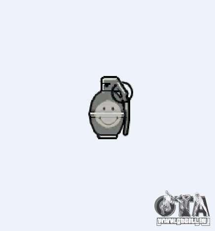 Smiley Granate pour GTA 4 quatrième écran