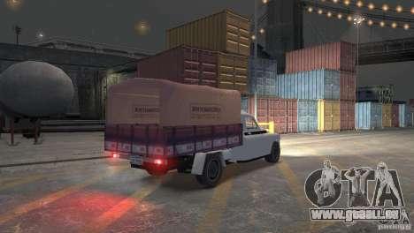 GAZ M20 Pickup für GTA 4 rechte Ansicht