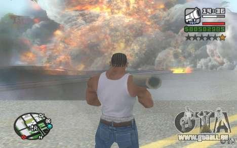 Nouveaux effets pour GTA San Andreas