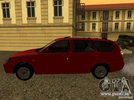 VAZ-2171 pour GTA San Andreas sur la vue arrière gauche