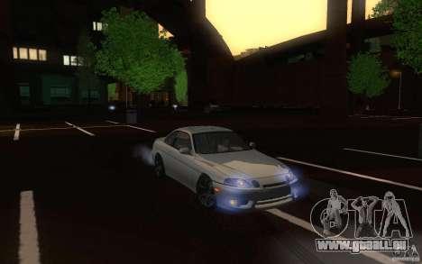Lexus SC300 pour GTA San Andreas vue intérieure