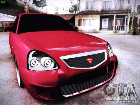 VAZ-2170 für GTA San Andreas Seitenansicht