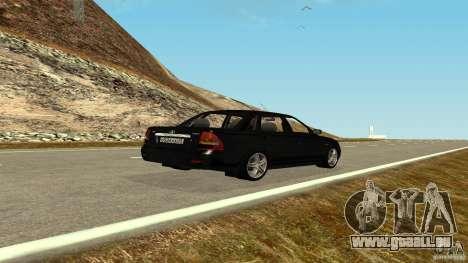 VAZ-2170 pour GTA San Andreas laissé vue