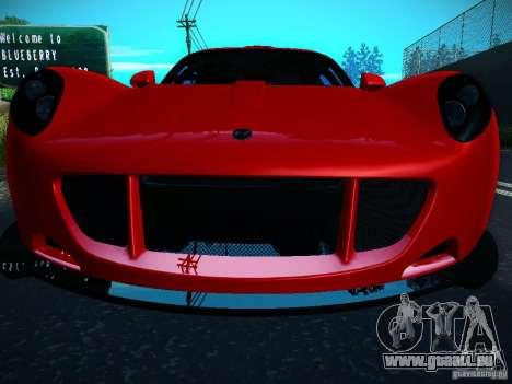 Hennessey Venom GT Spyder für GTA San Andreas rechten Ansicht