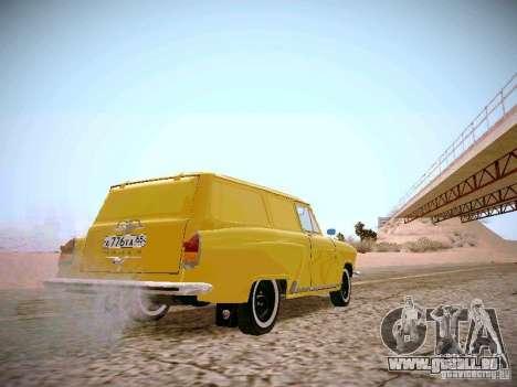 GAS 22 b Van für GTA San Andreas rechten Ansicht