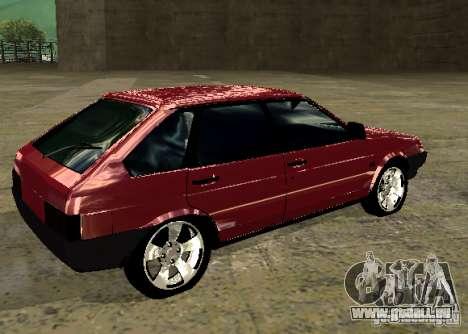 VAZ 2109 Chrom für GTA San Andreas linke Ansicht