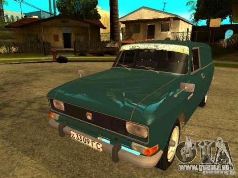 AZLK 2734 pour GTA San Andreas