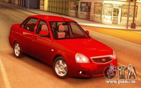 VAZ-2170 für GTA San Andreas Innenansicht