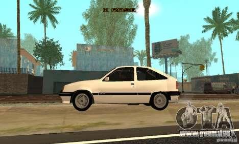 Opel Kadett E für GTA San Andreas linke Ansicht