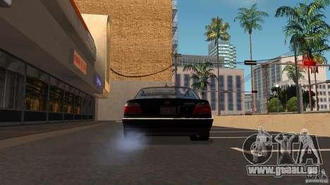 BMW E38 750LI pour GTA San Andreas vue intérieure