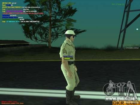 HQ texture for MP pour GTA San Andreas troisième écran