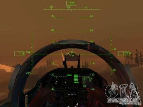 Aviation HUD pour GTA San Andreas cinquième écran