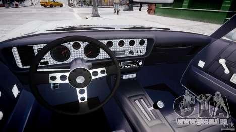 Pontiac Firebird Esprit 1971 für GTA 4 Rückansicht
