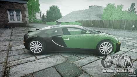 Bugatti Veyron 16.4 pour GTA 4 est une vue de l'intérieur