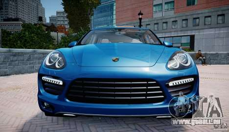 Porsche Cayenne Turbo 2012 pour GTA 4 Vue arrière