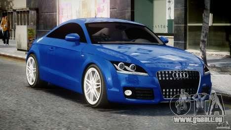 Audi TT RS Coupe v1.0 für GTA 4 Rückansicht