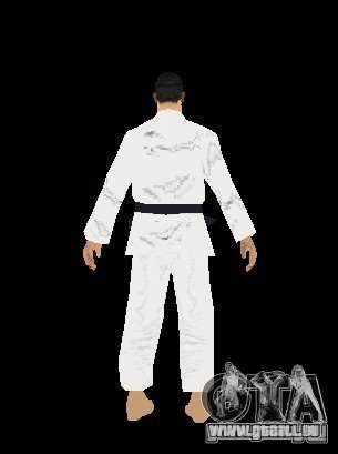 Reteksturirovannye karate für GTA San Andreas sechsten Screenshot