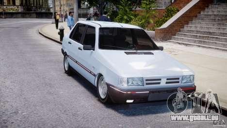Fiat Duna 1.6 SCL [Beta] für GTA 4 Rückansicht