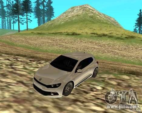 VW Scirocco III Custom Edition pour GTA San Andreas laissé vue