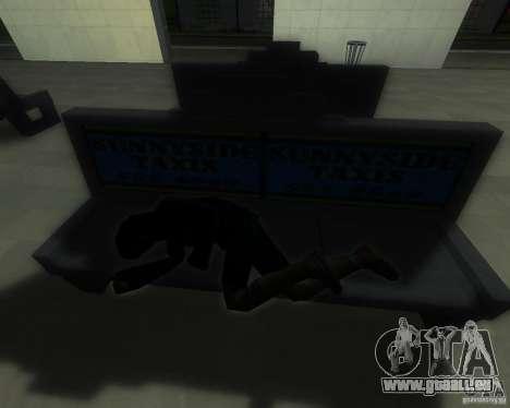Une gare animée à San Fierro pour GTA San Andreas cinquième écran