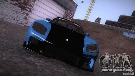 Mazda RX-7 Veilside v3 pour GTA San Andreas vue de droite