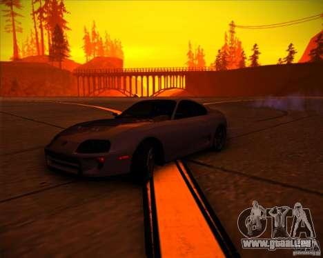 Toyota Supra SHE für GTA San Andreas Innen