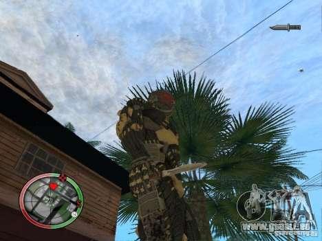 Sammlung von Waffen von Crysis 2 für GTA San Andreas her Screenshot