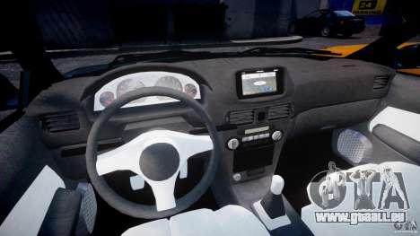 Toyota Sprinter Carib BZ-Touring 1999 [Beta] für GTA 4 Rückansicht