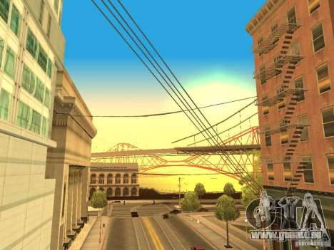 New Sky Vice City für GTA San Andreas her Screenshot
