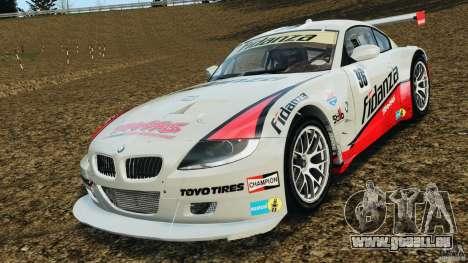 BMW Z4 M Coupe Motorsport pour GTA 4