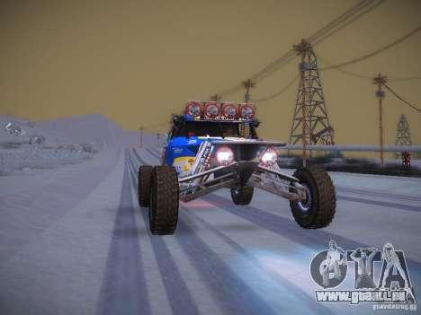 Ickler Jimco Buggy pour GTA San Andreas vue de dessous