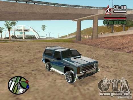 ENBSeries pour GForce FX 5200 pour GTA San Andreas