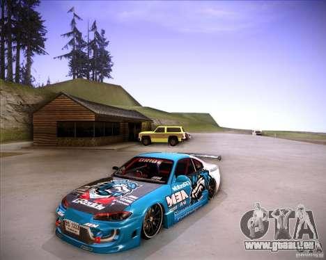 Nissan Silvia S15 Blue Tiger pour GTA San Andreas